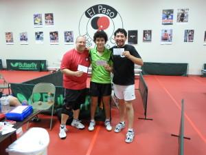 Mark Nordby 2nd, Gustavo Gutierrez 1st, Chinoz Rojas 3rd