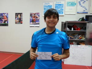 Pedro Rojos, 2nd place