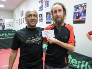 Shekhar Deshpande & Gaspar Cabanes, 1st place