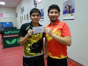 Pedro Rojas & Chinoz Rojas, 2nd place