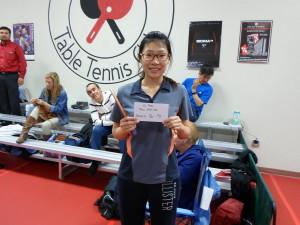 Xiaomei Ye, 1st place