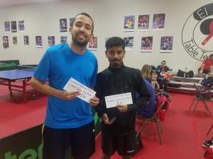 Carlos Silva and Abdullah Almkeemy, 1st